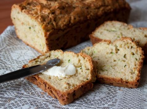 Сырно-кабачковый хлеб