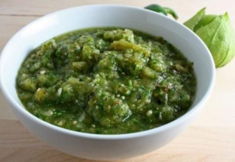 Постный овощной соус