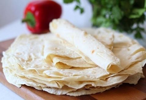 Тонкий армянский лаваш на сковороде (видео)