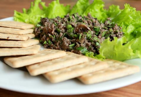 Рецепт - Грибная икра с овощами