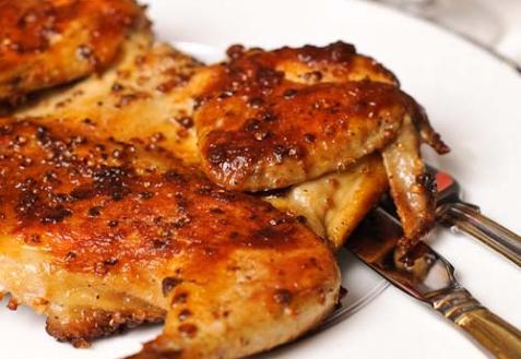 Цыпленок по-грузински (видео)