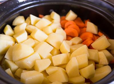 + картофель и морковь
