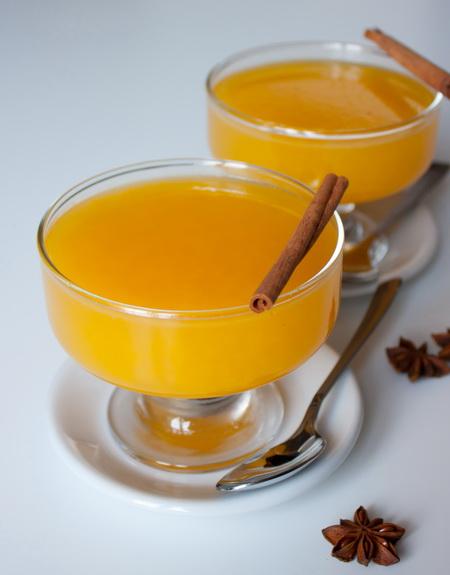 Апельсиновое желе с пряностями