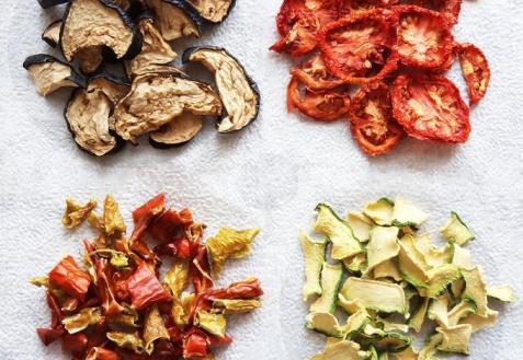 Как сушить овощи
