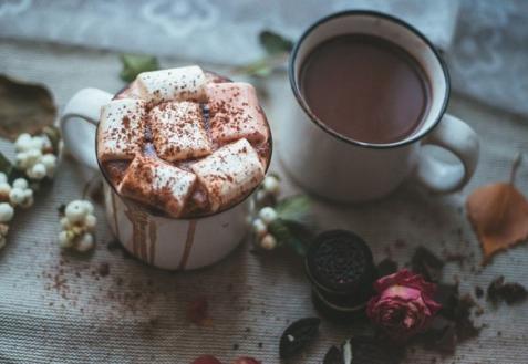 Согревающий шоколадный напиток