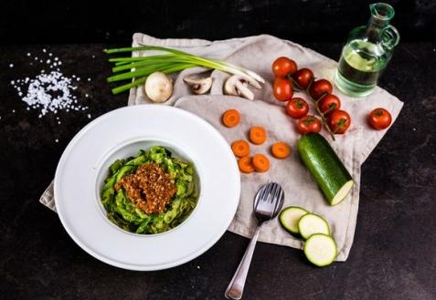 """Овощные спагетти """"Болоньезе"""""""