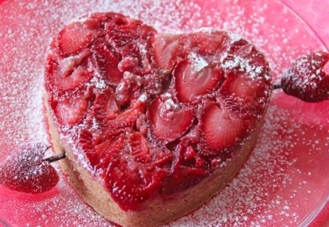 Рецепт на День святого Валентина: Клубничный пирог