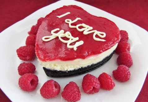 Мини-чизкейки на День святого Валентина