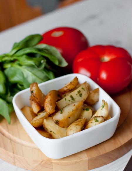 Пикантный запеченный картофель