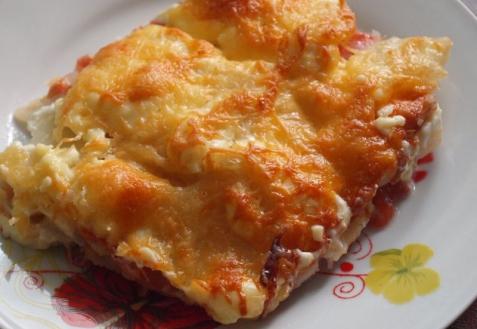 Рецепт -  Мусака с рыбой