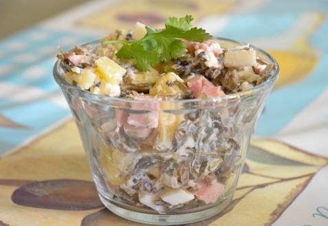 Рецепт - Салат из морской капусты