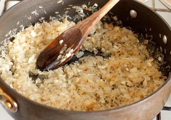 + рис и чеснок