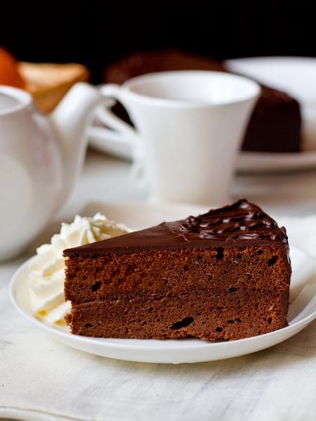 Шоколадный торт a la