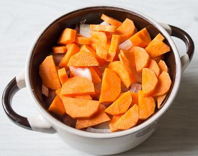 + морковь