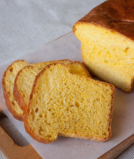 Дрожжевой тыквенный хлеб