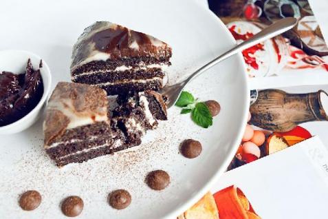 Рецепт - Черемуховый торт