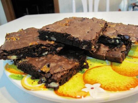 Рецепт - Брауни Double Chocolate