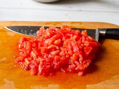Конкассе из томатов