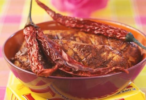 Куриное филе в шоколаде по-мексикански