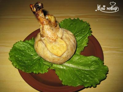 Рецепт - Куриная голень в