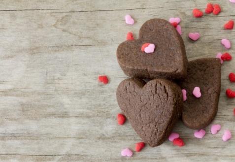 Рецепт на День святого Валентина: Шоколадные сердечки