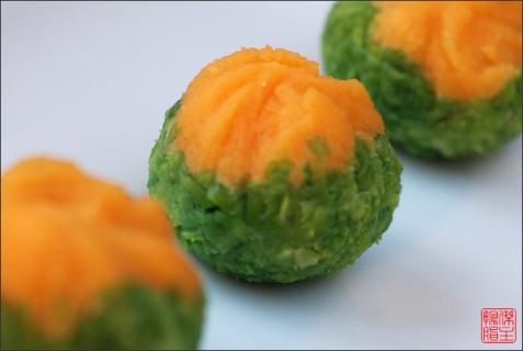Рецепт - Японский десерт «Тякин сибори»