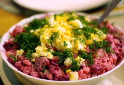 Шведский селедочный салат