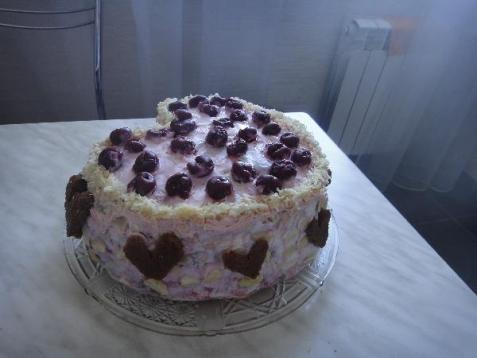Рецепт - Вишнёвый торт