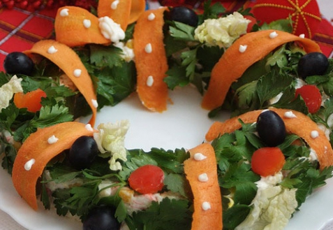 Новогодний рецепт - Салат