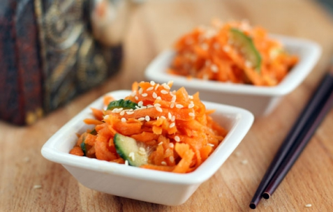 Рецепт - Острый салат из моркови