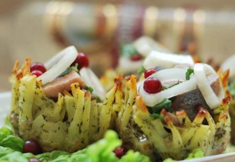 Рецепт - Селедочка в картошечке