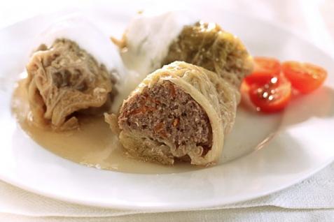 Рецепт - Голубцы с мясом