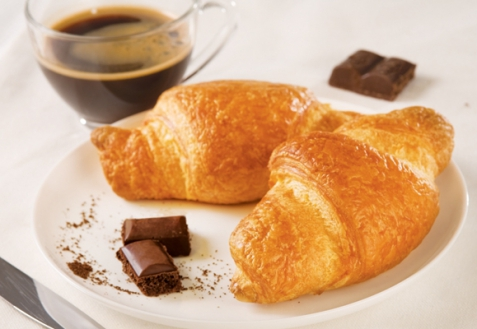 Рецепт - Круассаны с шоколадом