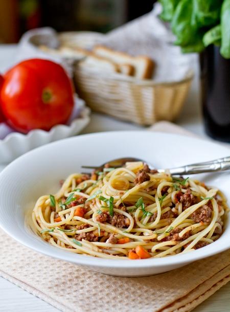 спагетти болоньезе классический рецепт с фото