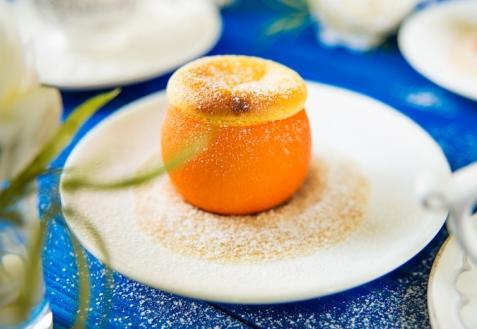 Суфле в апельсинах (видео)