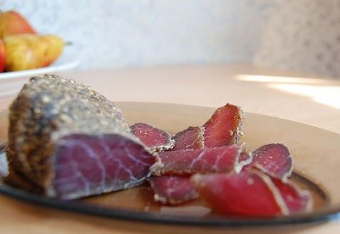 Рецепт - Вяленое мясо | Холодные закуски | Рецепты | ONLINE.UA