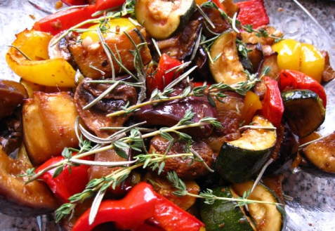 Рецепты овощей решетке фото
