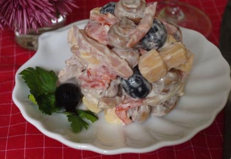 """Рецепт - салат """"Праздничный"""""""