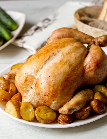 Цыпленок в пряном маринаде