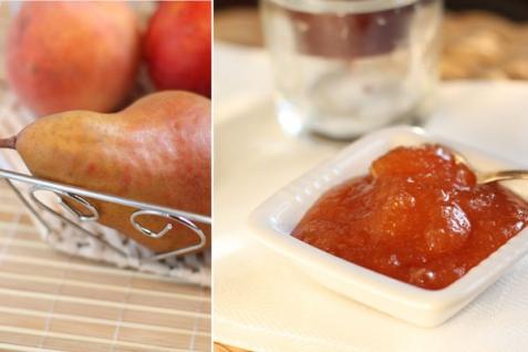 Рецепт - Джем из груш и персиков