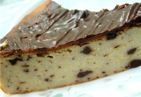 Рецепт - Чизкейк с шоколадом