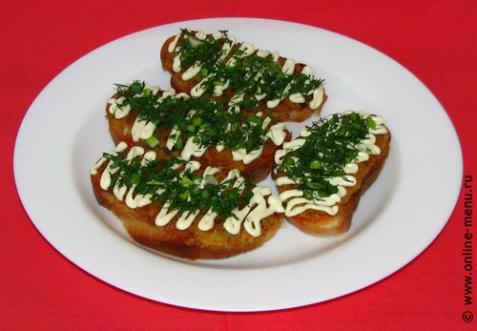 рецепт бутербродов перевертышей