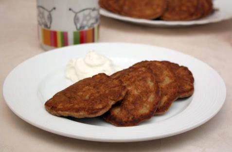 Рецепт - Печеночные оладьи