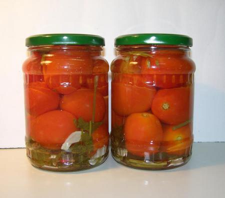 Рецепт - Маринованные помидоры