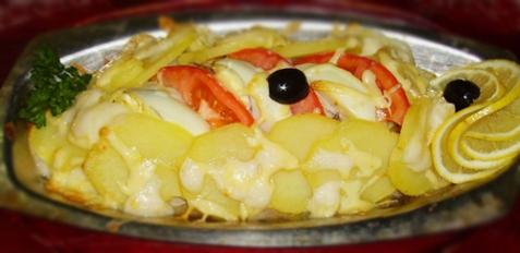 Рыба по-монастырски - рецепт