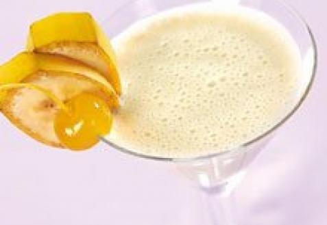 Банановый коктейль с коньяком