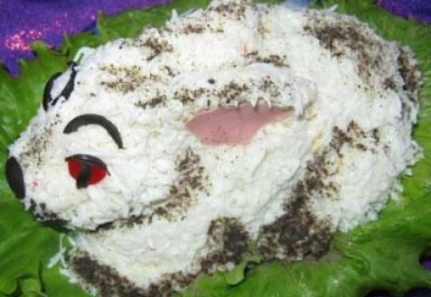 Салат «Кролик»