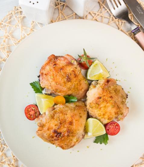 Курица, запеченная с лаймом