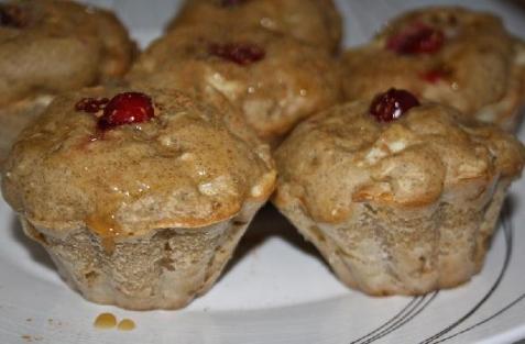 Рецепт - Яблочные кексы
