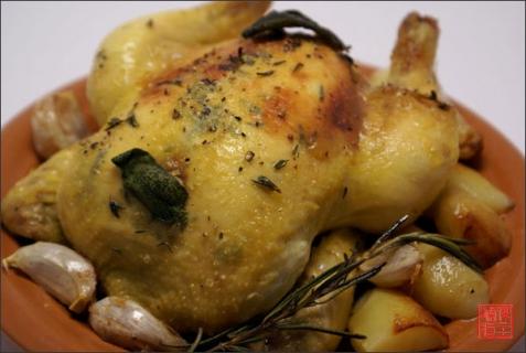 Рецепт - Цыплята в прованском стиле